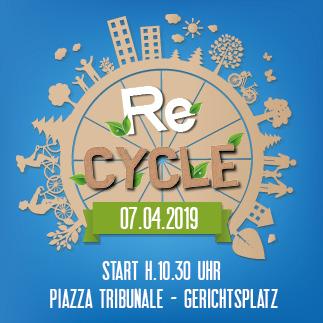 """Südtirol radelt"" beim ReCYCLE"